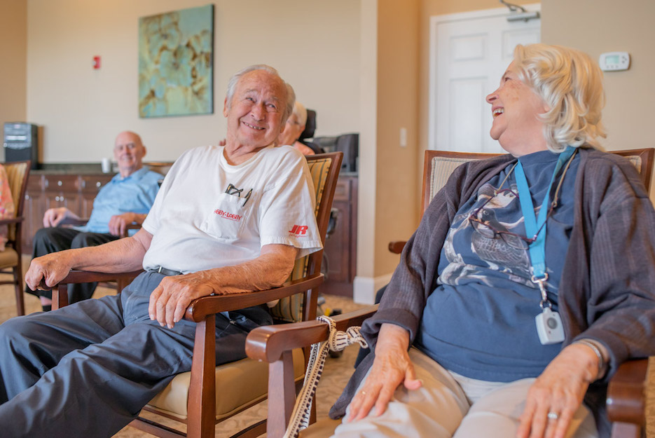 The Importance of Building Relationships at Senior Solutions Management Group communities